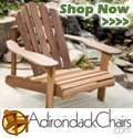 Adirondack Chairs for the Patio